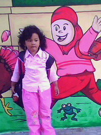 Foto dooloo di Mural yang Baru